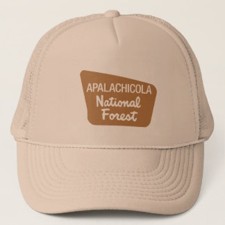 Apalachicola National Forest (Sign) Trucker Hat