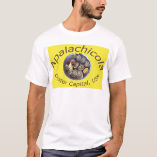 Apalachicola Oyster Capital yellow T-Shirt