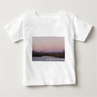 Apalachicola sunset baby T-Shirt
