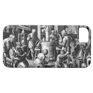 Aparato de la destilación en alquimia iPhone 5 carcasa