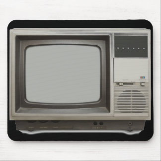aparato de TV del vintage Alfombrilla De Ratones