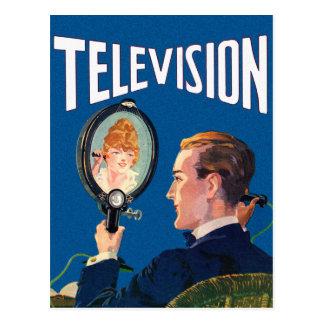 Aparato de TV Elegante del teléfono de la televisi Tarjeta Postal