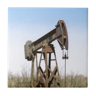 Aparejo de bombeo del aceite azulejo cuadrado pequeño