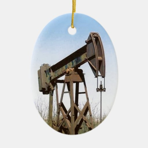 Aparejo de bombeo del aceite ornato