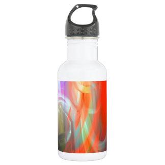 Aparición abstracta botella de agua