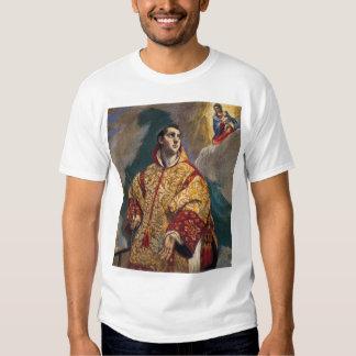 Aparición de la Virgen a St Lawrence Playeras