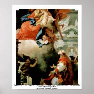 Aparición de la Virgen Posters