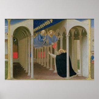 Aparición de los SS. Peter y Paul al St. Póster
