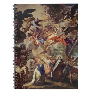 Aparición de San José a St Theresa Libros De Apuntes Con Espiral