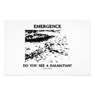 ¿Aparición usted ve a un Dalmatian? Papeleria De Diseño