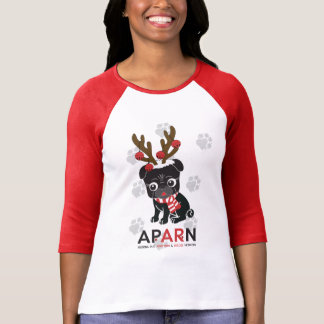APARN Holiday Women's Bella 3/4 Sleeve Raglan Tee