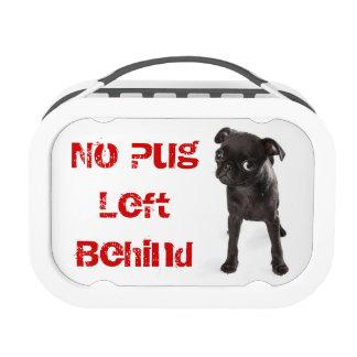 APARN No Pug Left Behind Yubo Lunchbox, Grey Yubo Lunch Box