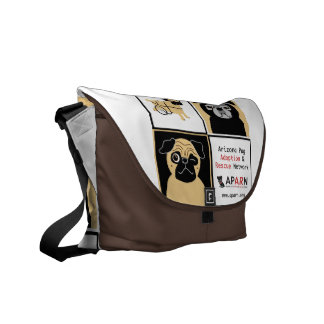 APARN Rescue Dogs Medium Messenger Bag