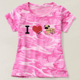 APARN Rescue Pug Women's Camouflage T-Shirt