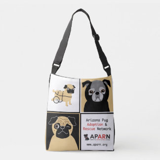 APARN Rescue Pugs All-Over-Print Cross Body Bag