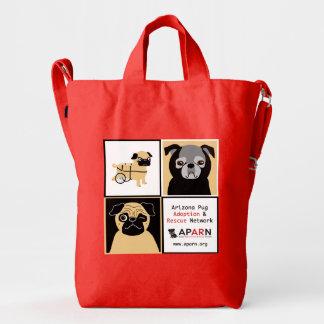 APARN Rescue Pugs Custom BAGGU Duck Bag, Poppy Duck Bag