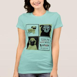 APARN Rescue Pugs Women's Bella Jersey T-Shirt