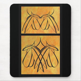 Apart - Together: Diptych Mouse Pad