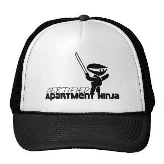 Apartamento certificado Ninja divertido Gorras De Camionero