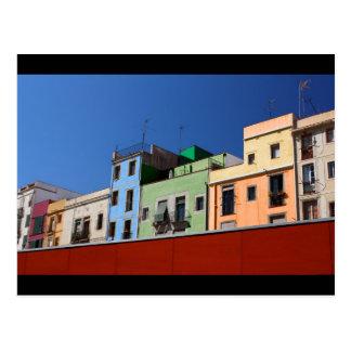 Apartamentos de Barcelona Tarjeta Postal