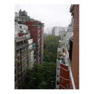 Apartamentos de Buenos Aires en la Argentina Postales