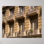 Apartamentos, Italia Poster
