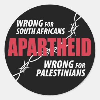 Apartheid Sticker