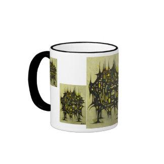 Apartment #7 ringer coffee mug