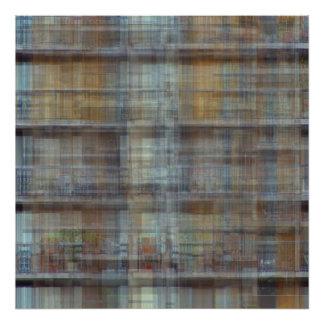 Apartment Block Behind MOCA Art Photo