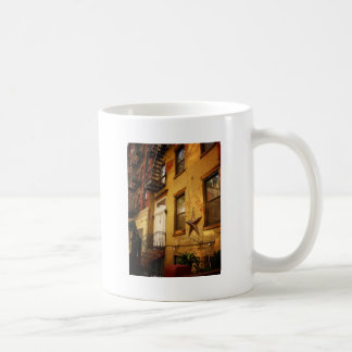 Apartment Building, Alphabet City, East Village Classic White Coffee Mug