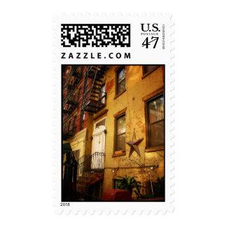 Apartment Building, Alphabet City, East Village Postage
