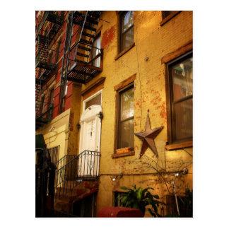Apartment Building, Alphabet City, East Village Postcard