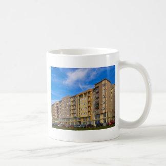 apartment building coffee mugs