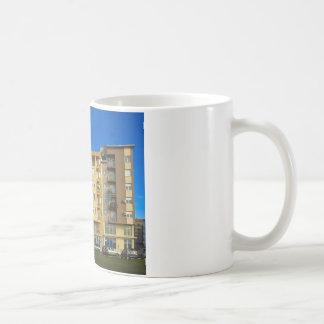apartment building coffee mug