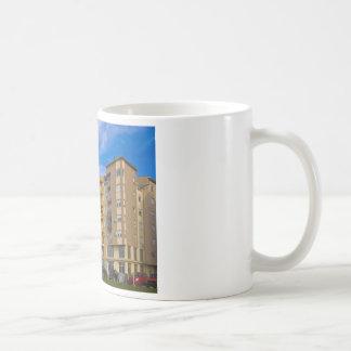 apartment building mug