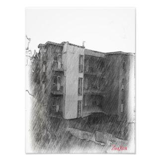 Apartment Building Photo Print