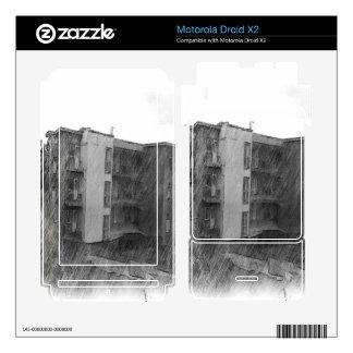 Apartment Building Motorola Droid X2 Decal