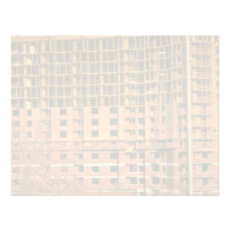 Apartment building under construction, Arlington, Custom Letterhead