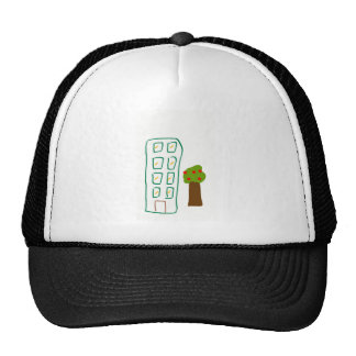 Apartment house trucker hat