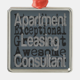 Apartment Leasing Consultant Extraordinaire Metal Ornament