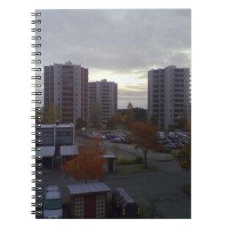 Apartment Trondheim Spiral Notebook