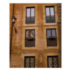 Apartment windows, Rome, Italy 2 Poster