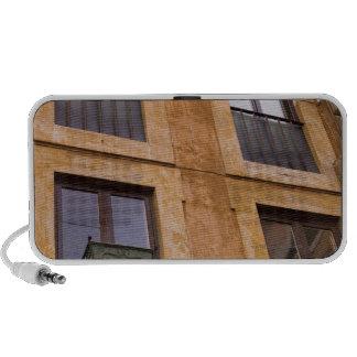 Apartment windows, Rome, Italy iPod Speakers