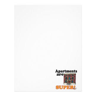 apartments are super letterhead