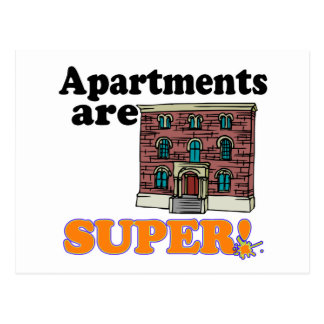apartments are super postcard