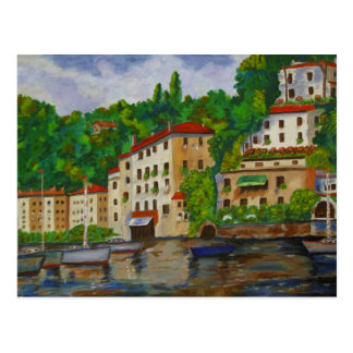 Apartments in Italy - Mini Collectible Prints Postcard