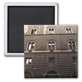 Apartments, Rome, Italy 2 Inch Square Magnet
