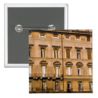 Apartments, Rome, Italy 2 Pinback Button