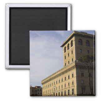 Apartments, Rome, Italy 3 2 Inch Square Magnet