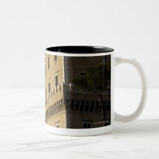 Apartments, Rome, Italy 3 Two-Tone Coffee Mug